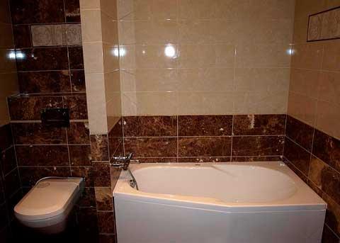 Объединение туалета с ванной